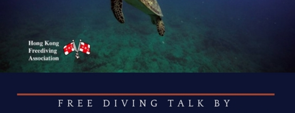 Free Diving Talk Flyer