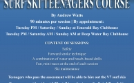 Poster Surf Ski Teenagers Course V3